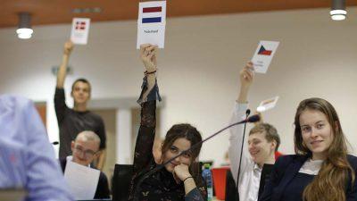 Středoškoláci budou iletos rozhodovat oEvropě!
