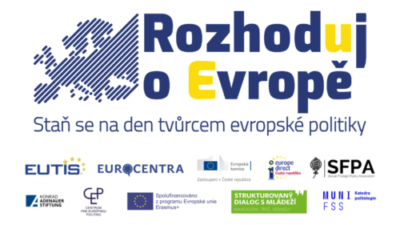 Nový ročník Rozhoduj oEvropě zahájí vOlomouci setkání mládeže zČeska aSlovenska