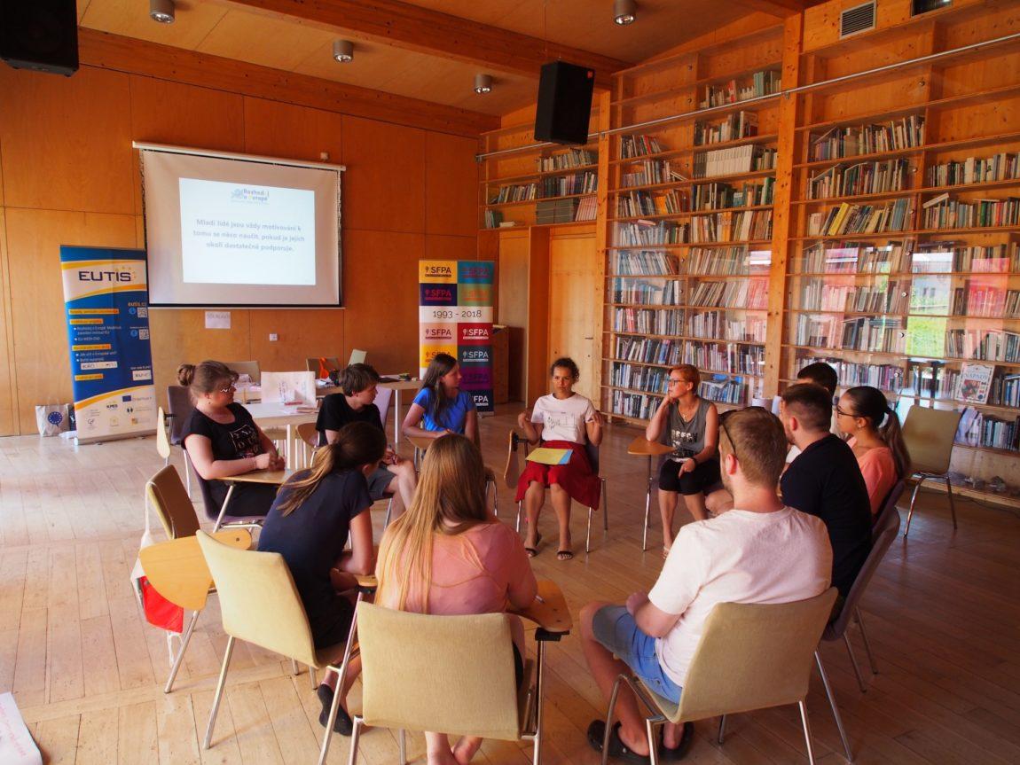 """Nový ročník """"Rozhoduj oEvropě"""" odstartoval setkáním mladých lidí vOlomouci!"""