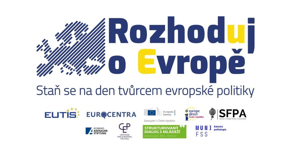 V letošním ročníku projektu Rozhoduj oEvropě zbývají už jen dva regionální semináře