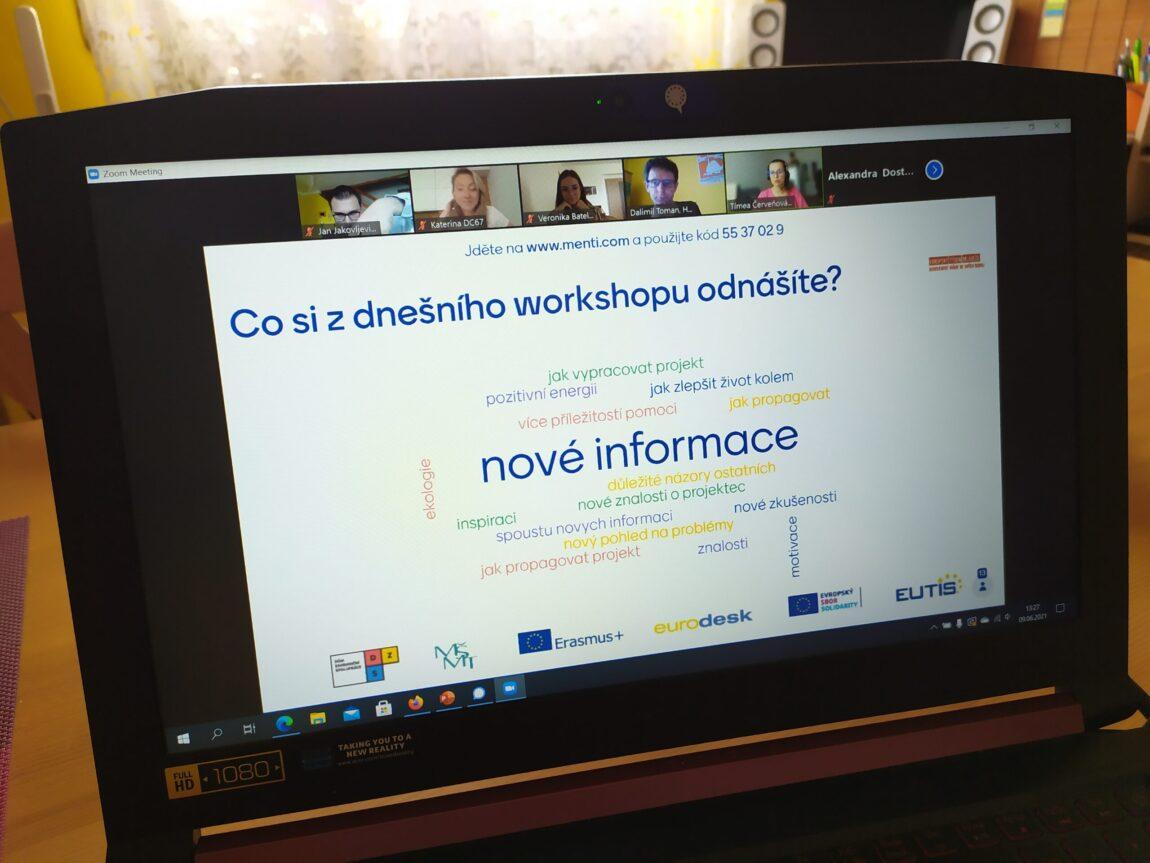 Jihomoravští studenti se na workshopu zabývali hlavně ekologickými tématy